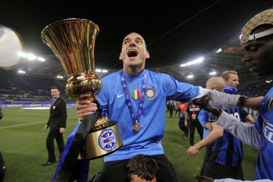 """Milano """"Inter"""" iškovojo Italijos taurę"""