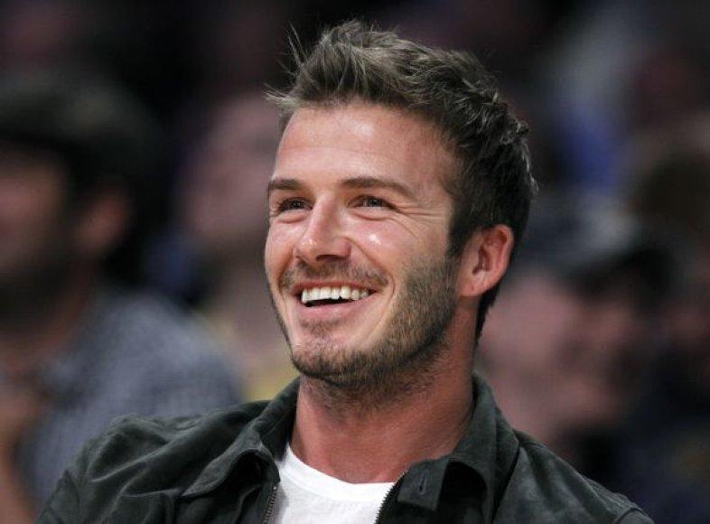 D.Beckhamas nori į PAR vykti kaip treneris