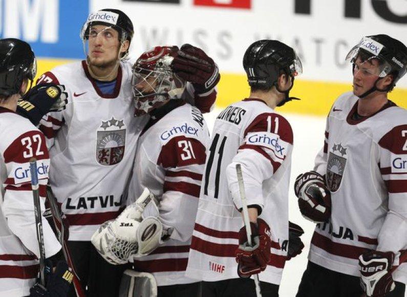 Paskutinėse rungtynėse Latvijos rinktinė nusileido čekams
