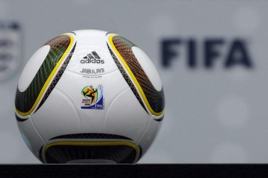 """""""Jabulani"""" – oficialus 2010 metų pasaulio futbolo čempionato kamuolys"""
