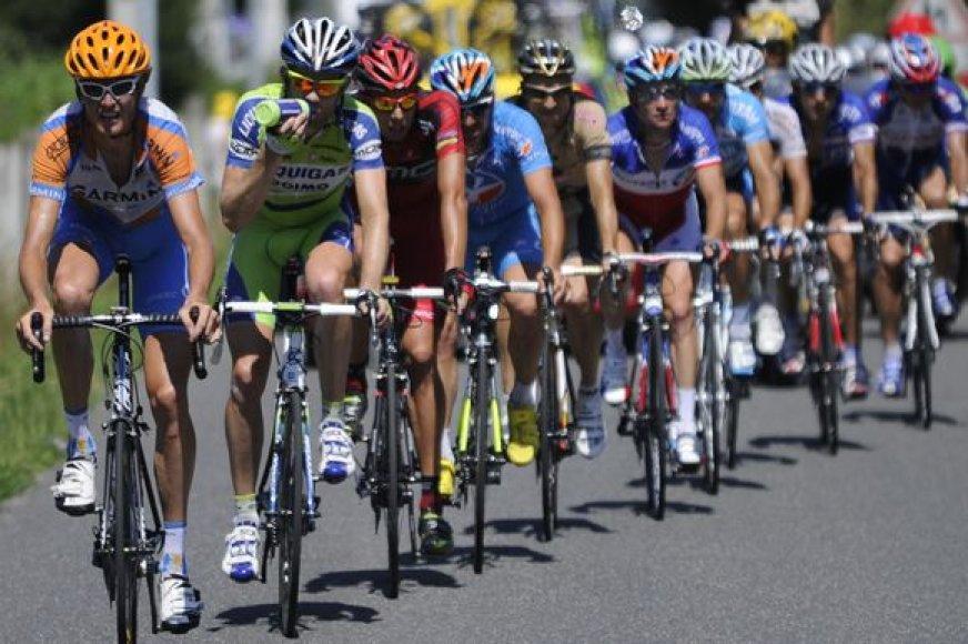 """Penkioliktasis """"Tour de France"""" etapas"""