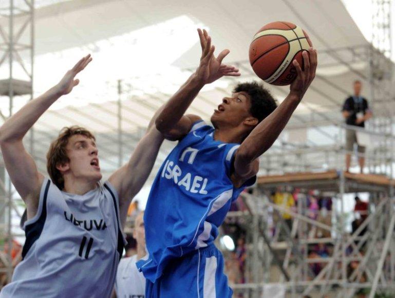 Lietuvos ir Izraelio krepšininkų dvikova