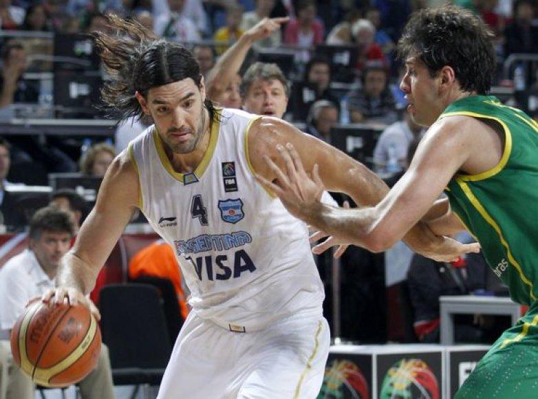 Argentinos ir Brazilijos rinktinių dvikovos akimirka