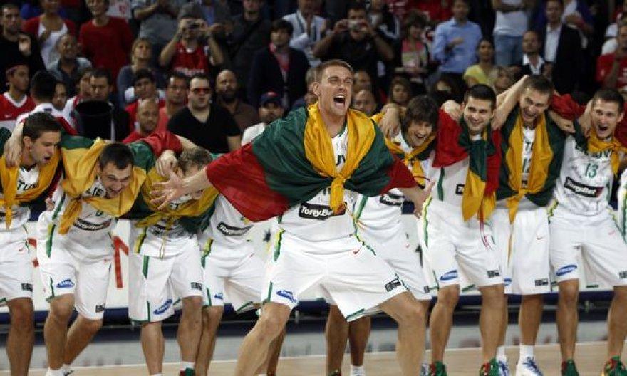 Lietuvos rinktinė iškovojo pasaulio čempionato bronzos medalius