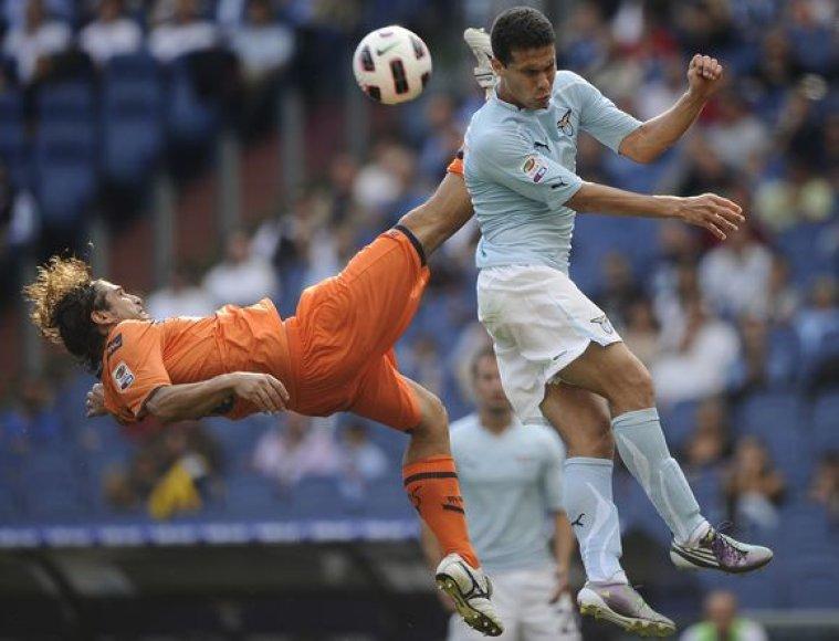 """""""Lazio"""" – Italijos pirmenybių lyderė"""