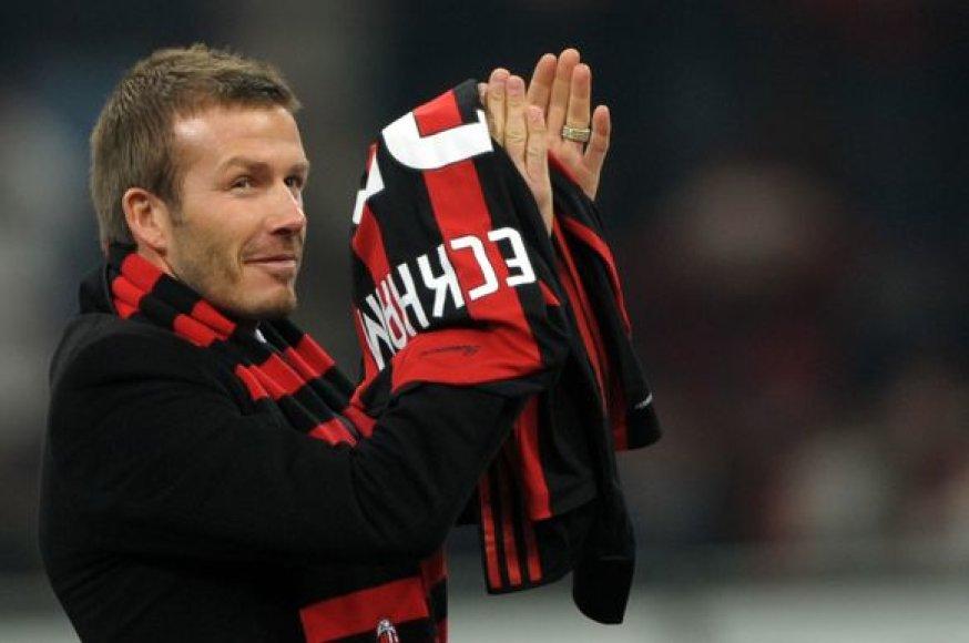 D.Beckhamas - turtingiausias pasaulio futbolininkas