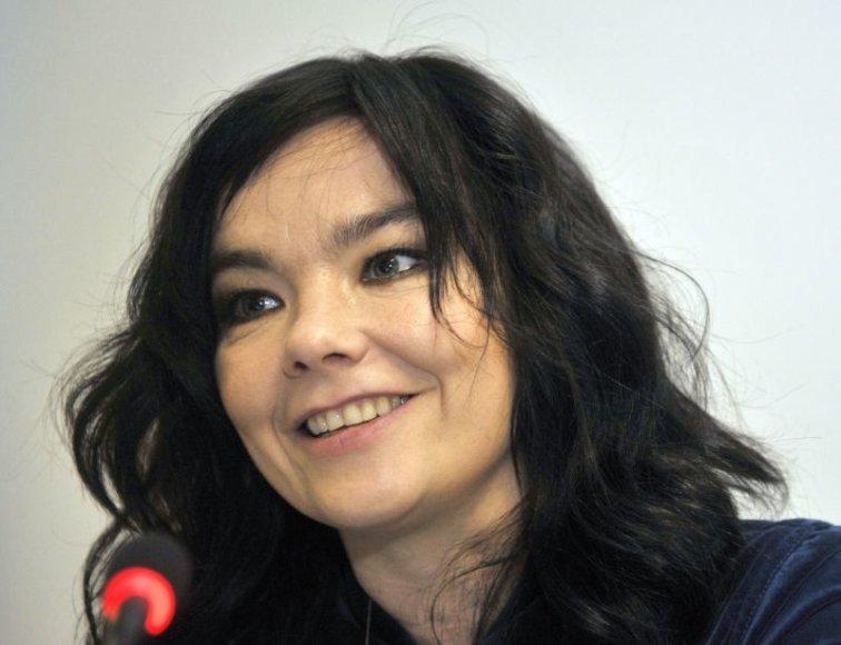 Islandų dainininkės Bjork koncerto Vilniuje kaina vertinama prieštaringai.