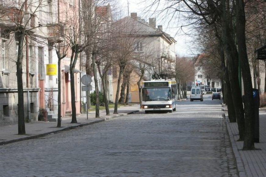 Planus suremontuoti J.Janonio gatvę dėl lėšų stygiaus teks atidėti.