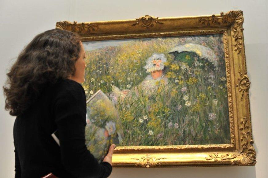 Per ekonomikos nuosmukį sumažėjo pirkėjų, galinčių už Claude Monet paveikslą mokėti milijonus.