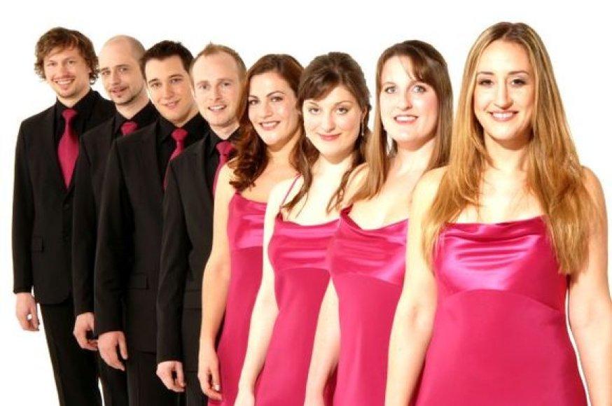 """Grupės """"The Swingle Singers"""" koncerte skambės originaliai interpretuoti klasikos kūriniai."""