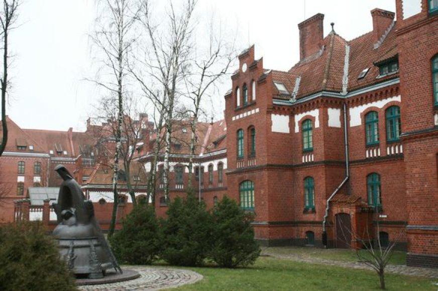 Klaipėdos universiteto miestelis per 5 metus žada gerokai išsiplėsti.