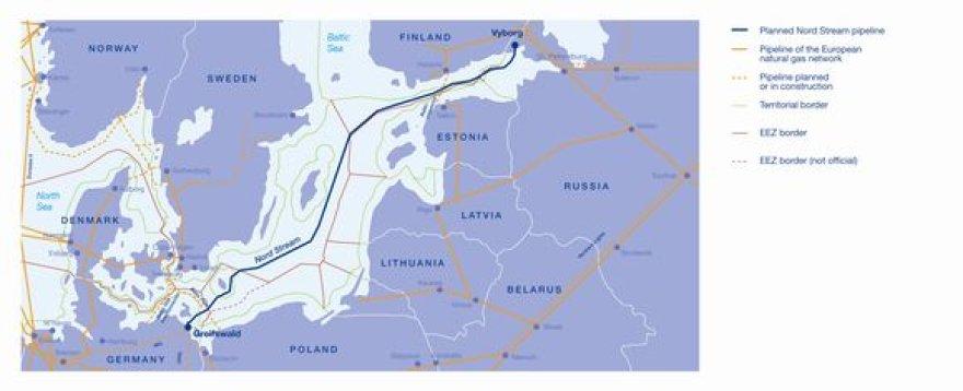 """Nepaisant,  kad """"Nabucco"""" dujotiekis suteiktų energetinio saugumo ir užtikrintumo, Vakarų Europos akys labiau krypsta į Rusijos-Vokietijos """"Nord Stream""""."""