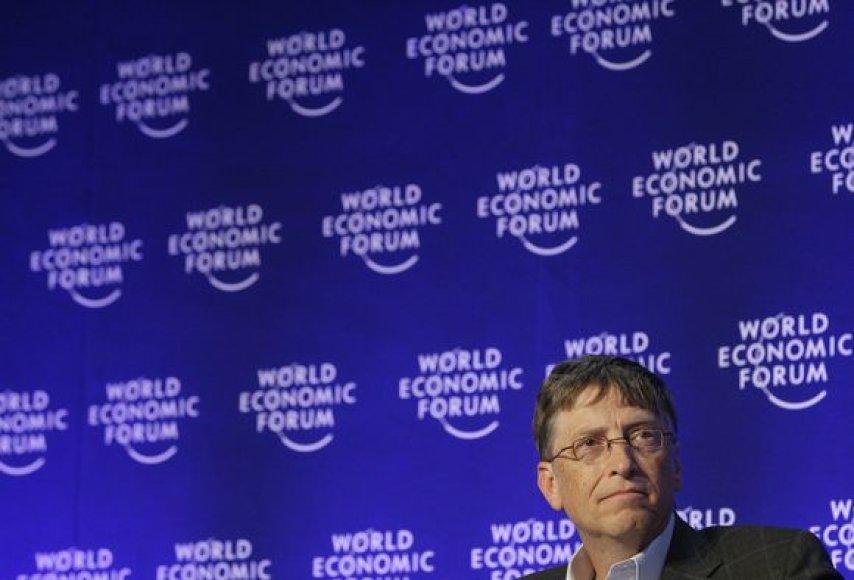 Bilas Gatesas Davose