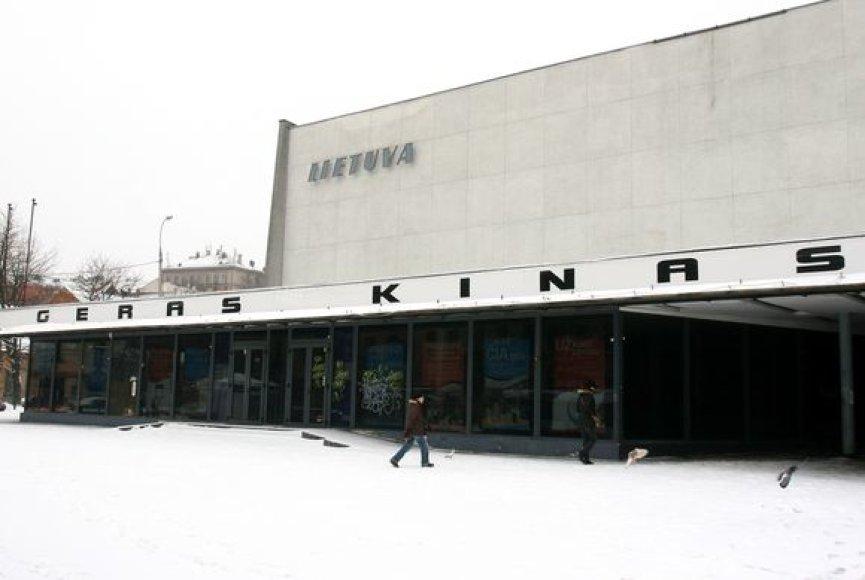 """Buvęs sostinės kino teatras """"Lietuva"""""""