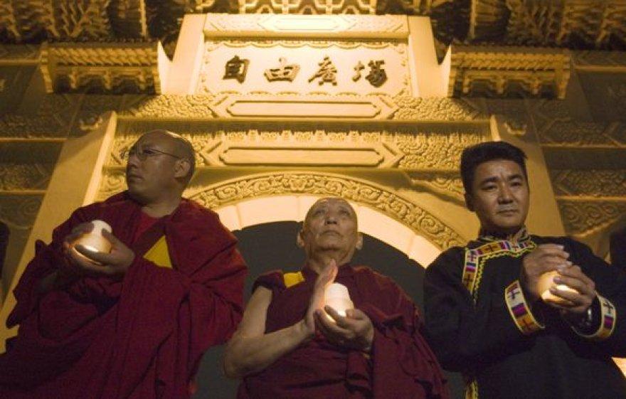 Tibetiečių vienuoliai