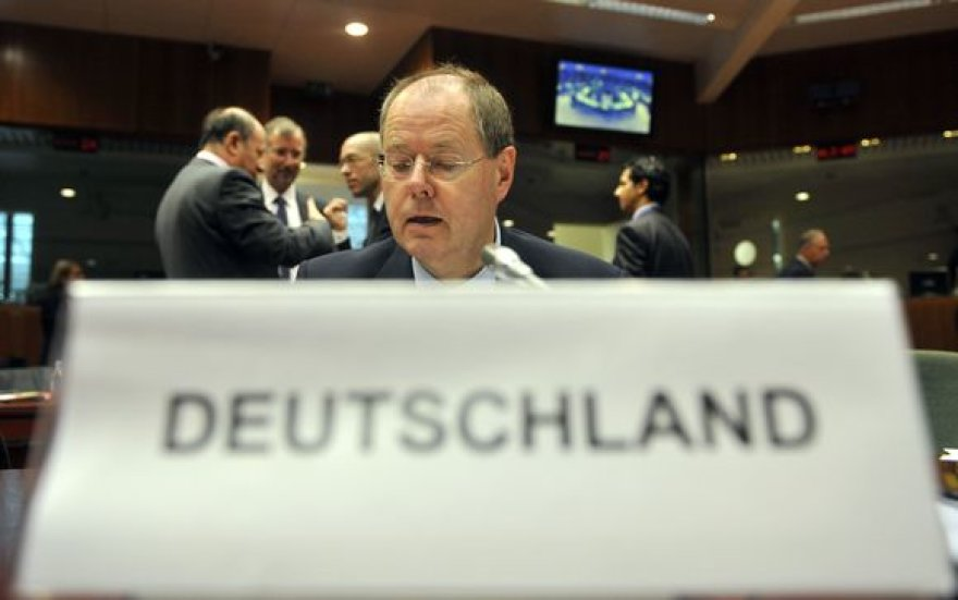 Vokietijos finansų ministras Peeras Steinbruckas