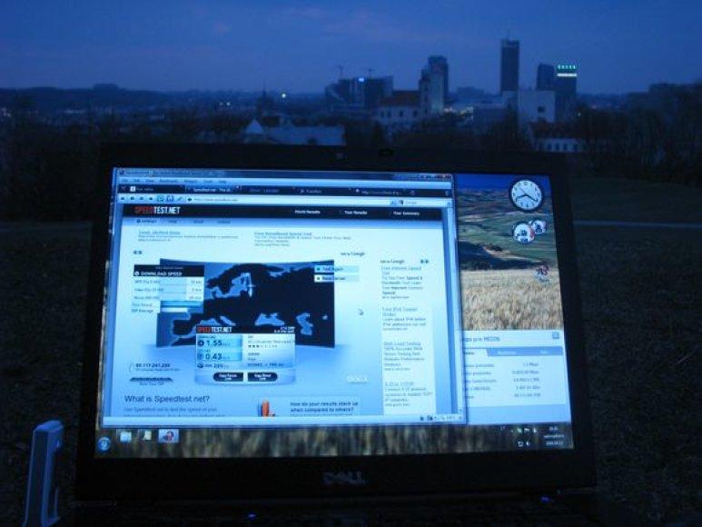 Romantiškas vakaras ant Tauro kalno – aš ir kompiuteris..