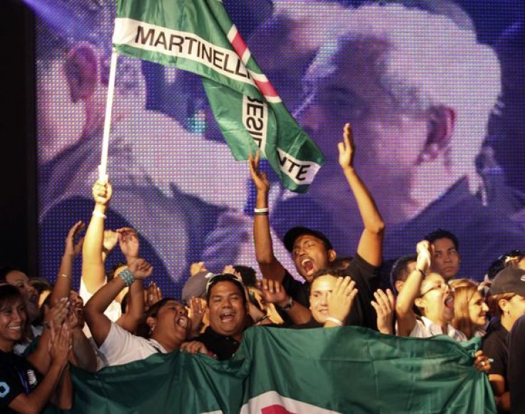 Panamos prezidento rinkimus laimėjo verslo magnatas Martinelli.