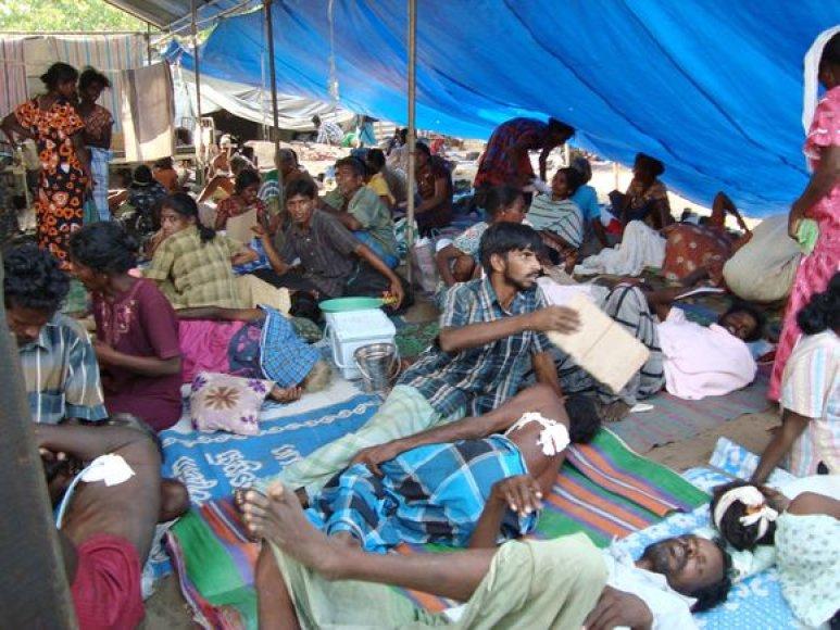 Lauko ligoninė Šri Lankoje