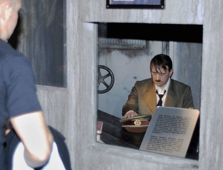 Vaškinė Hitlerio figūra