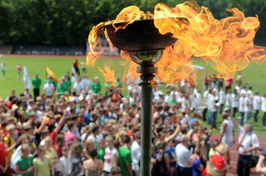 """Šeštadienį Vilniuje, """"Vingio"""" stadione, vyks tradiciniai Olimpinės dienos renginiai"""