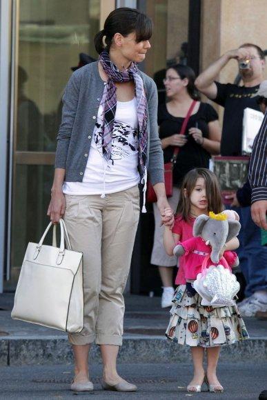 Katie Holmes su dukra Suri
