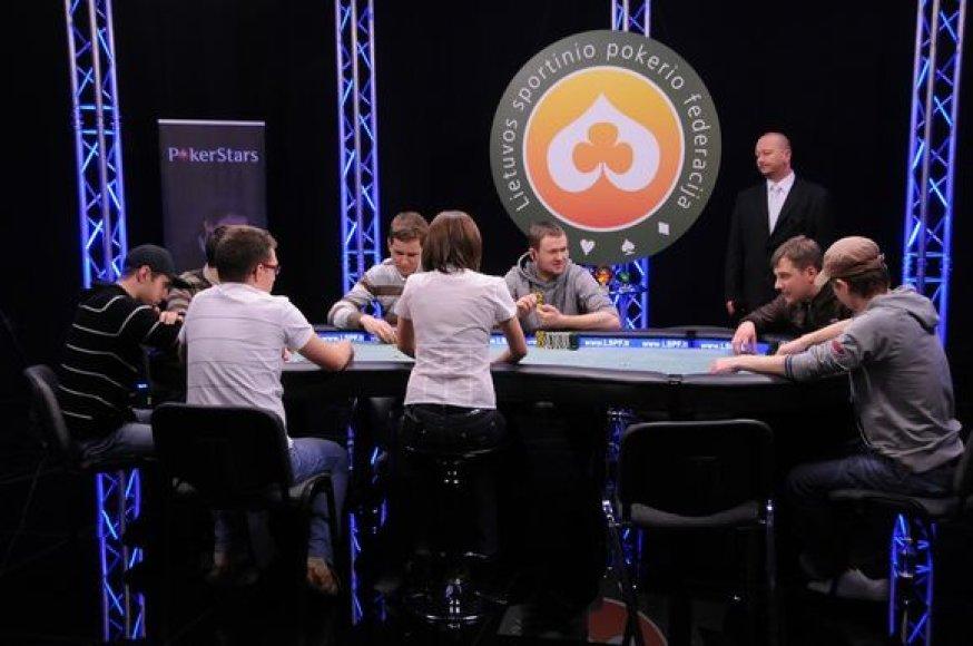 Komandinis pokerio turnyras