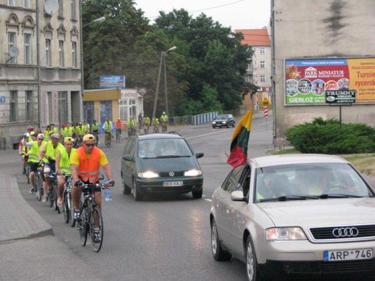 Istorinis dviračių žygis ,, Žalgirio mūšis – 600''