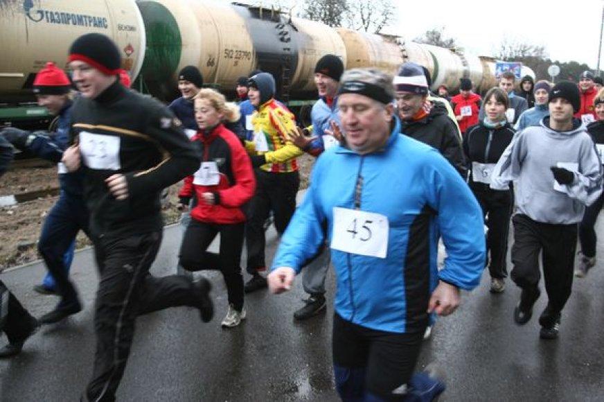 Sekmadienį rengiamas tradiciniu tapęs bėgimas laisvės gynėjų dienai paminėti.