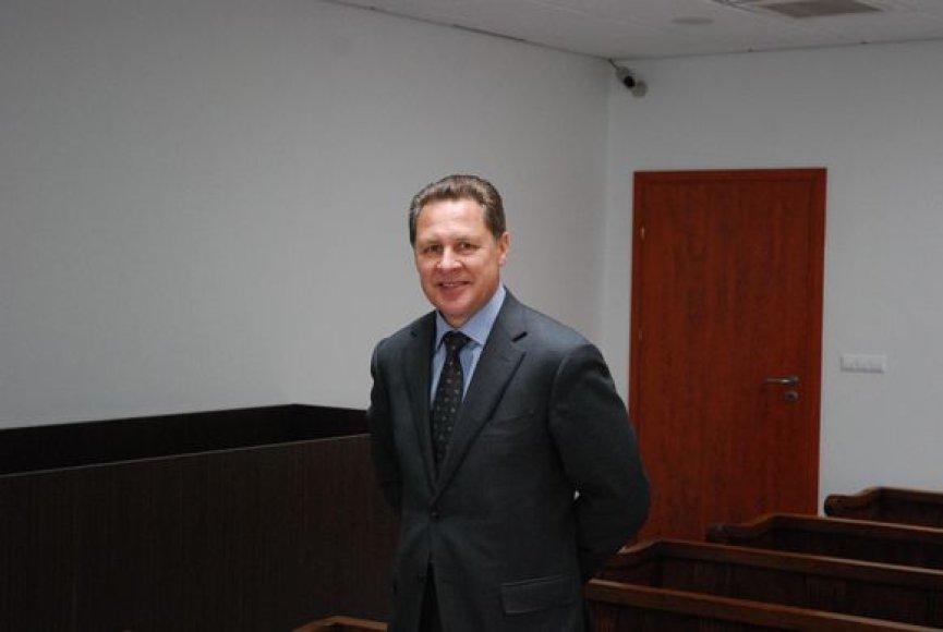 Povilas Milašauskas, buvęs VTF vadovas.