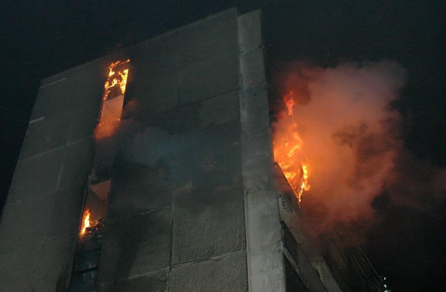 2007-ųjų kovo 11-osios tragedijos akimirka