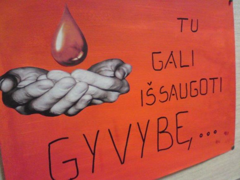 Kraujo donorystės agitacija