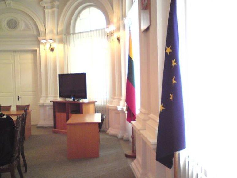 ES vėliava, dėl kurios kilo skandalas.