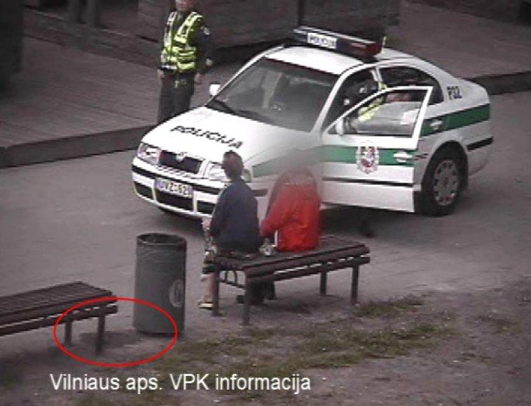 Pažeidėjos sulaukė policininkų dėmesio