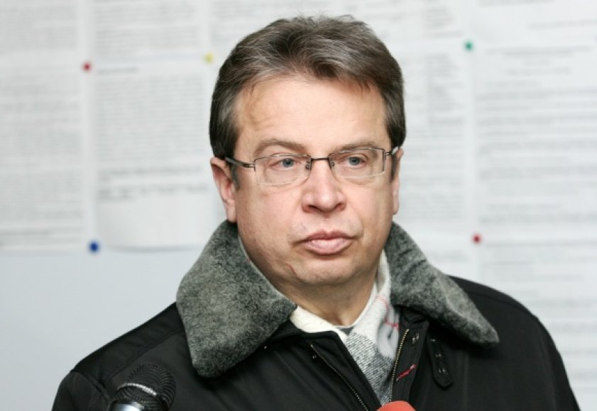 Advokatas Ignatijus Šuškevičius.