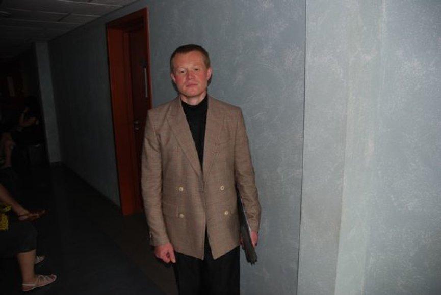 Klebonas V.Sakavičius teisme