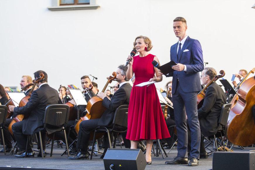 Luko Balandžio / 15min nuotr./LRT sezono atidarymo akimirka