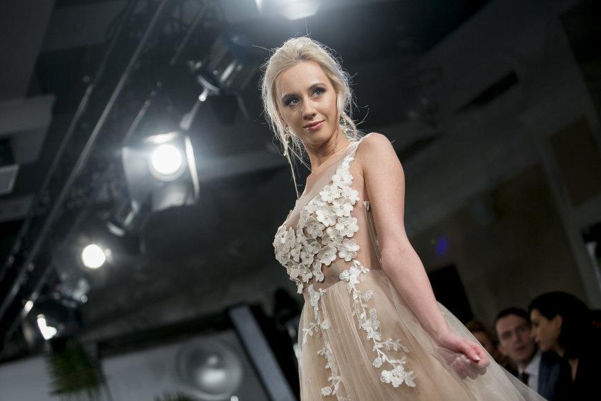 "Irmanto Gelūno / 15min nuotr./""Baltic Bridal Fashion Show"" akimirka"