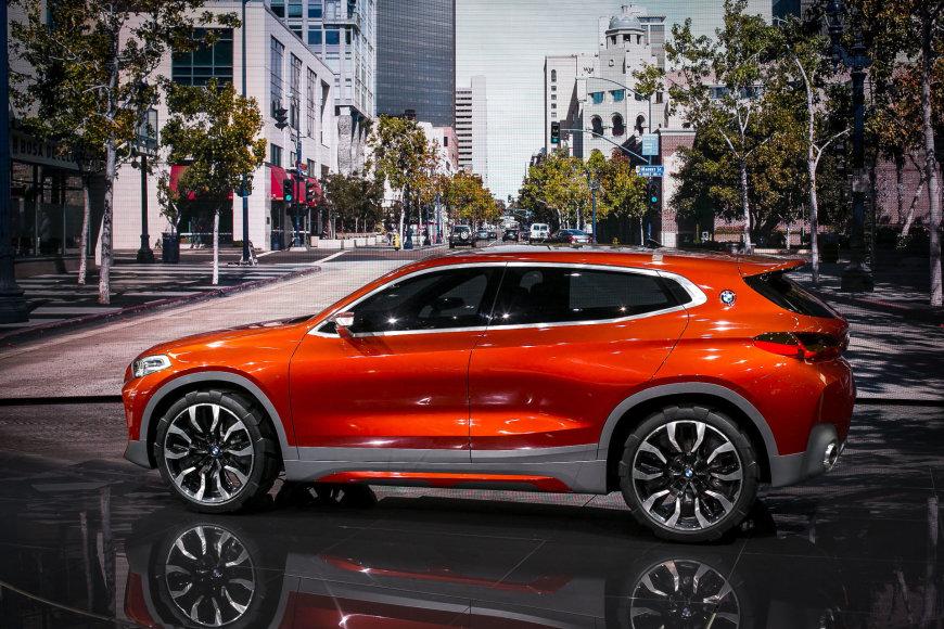 Irmanto Gelūno / 15min nuotr./BMW X2 konceptas