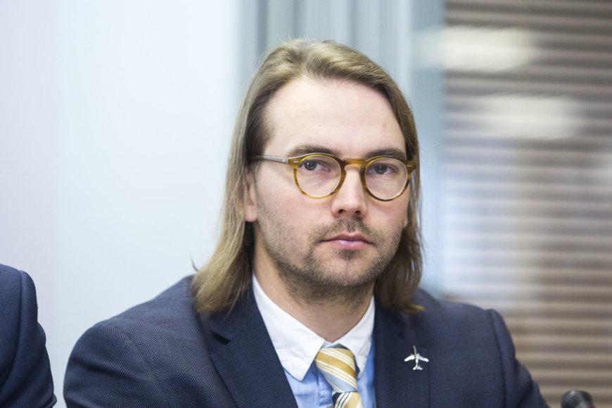 Irmanto Gelūno / 15min nuotr./Lietuvos oro uostų generalinis direktorius Gediminas Almantas