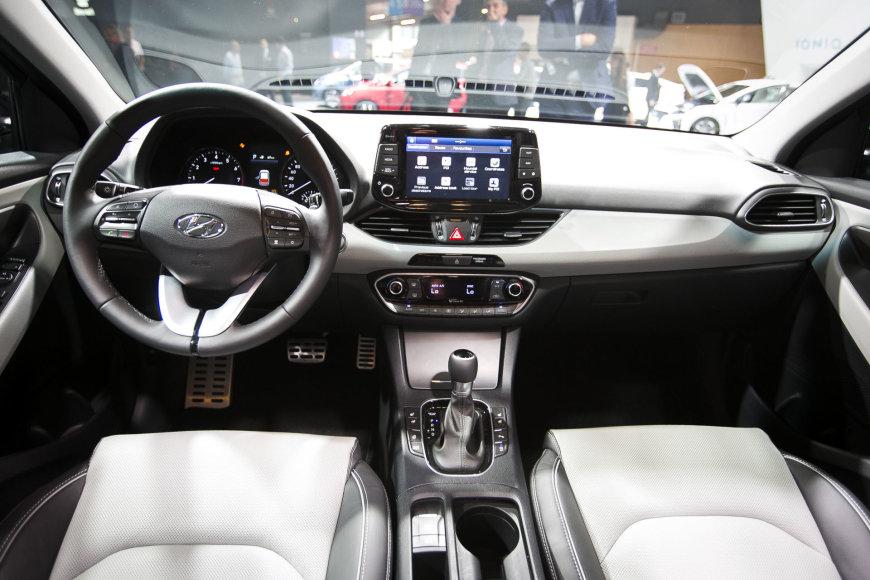 """Irmanto Gelūno / 15min nuotr./Naujasis """"Hyundai i30"""""""