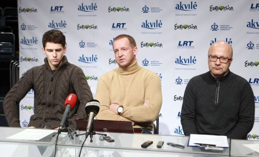 Donatas Montvydas,  Martynas Tyla ir Audrius Giržadas