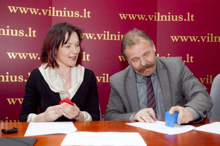 Danutė Navickienė ir Algimantas Vilūnas