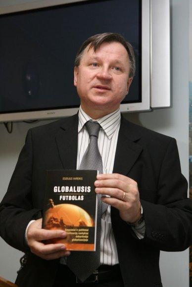 Egidijus Vareikis pasakoja apie knygą