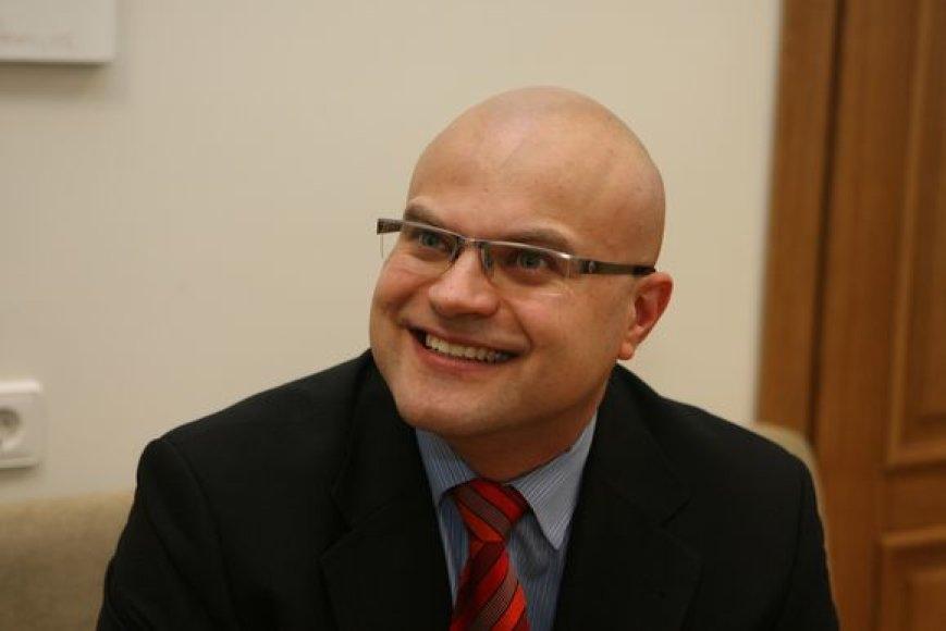 Tarptautinio Vilniaus oro uosto direktorius Tomas Vaišvila