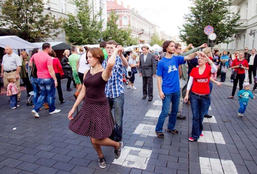 Sekmadienio popietė Vilniuje