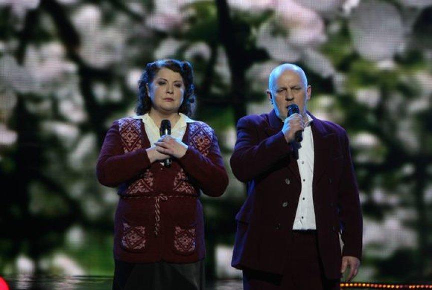 Larisa Kalpokaitė ir Ovidijus Vyšniauskas