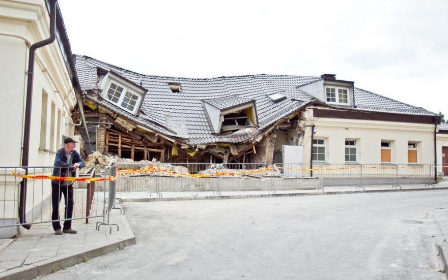 Per sprogimą nukentėjęs Vilniaus viešosios pirties pastatas aptvarkytas.