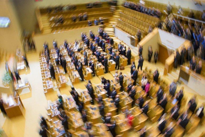 Pirmasis naujojo Seimo posėdis
