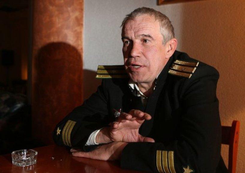 Rusijos kino grandas Sergejus Garmašas.
